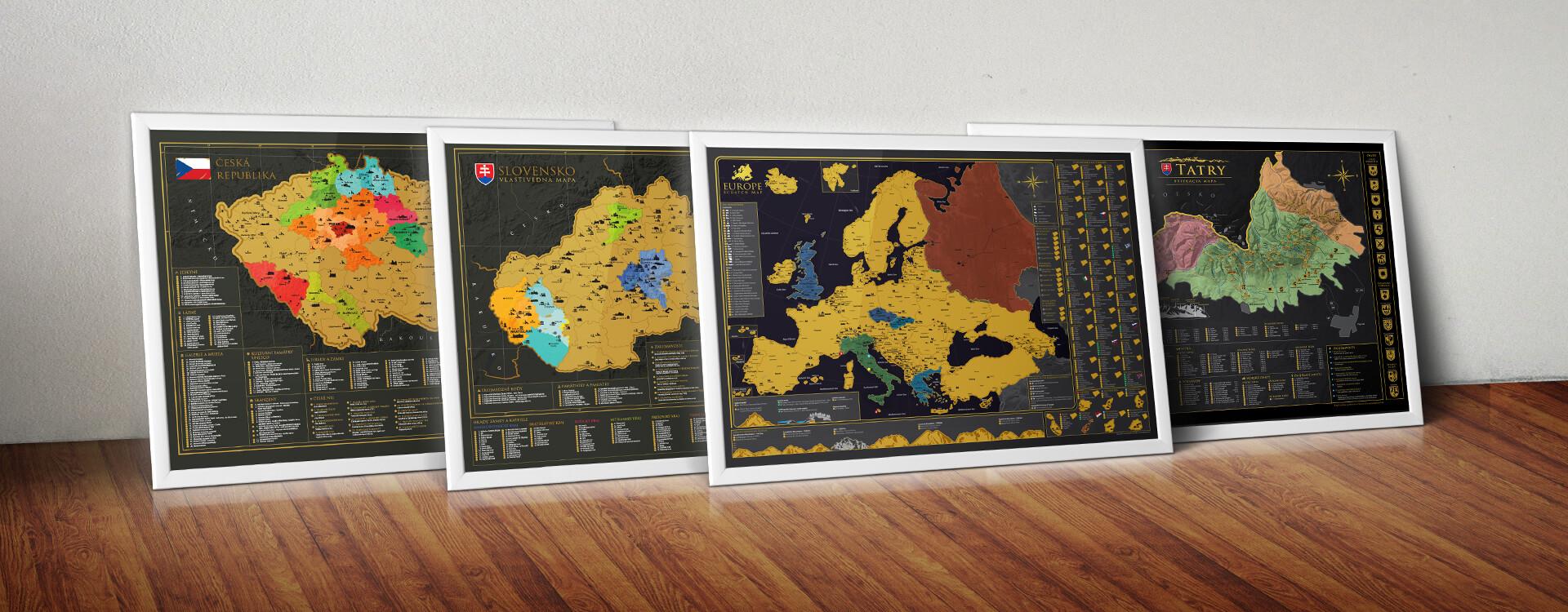 Stieracie mapy od 68travel