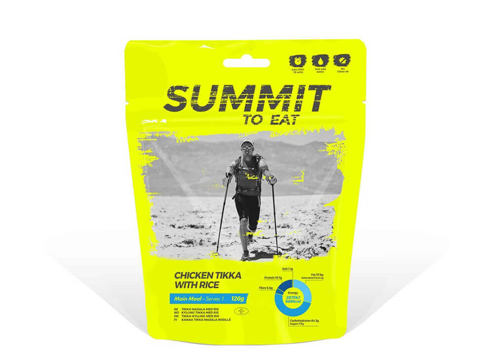 Summit to eat Kurča Tikka s ryžou