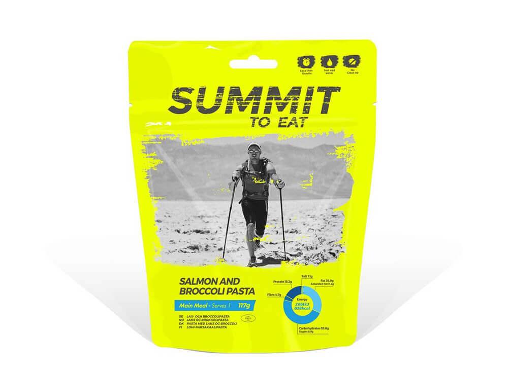 Summit to Eat Losos s brokolicou