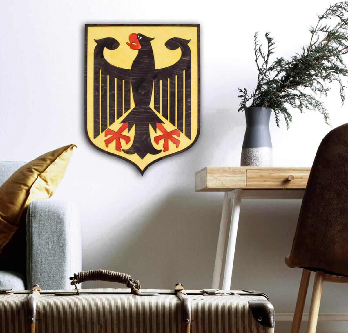 Drevený štátny znak Nemecka