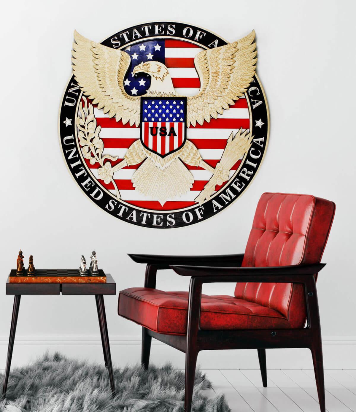 USA Eagle SymbolSymbol USA - Orol