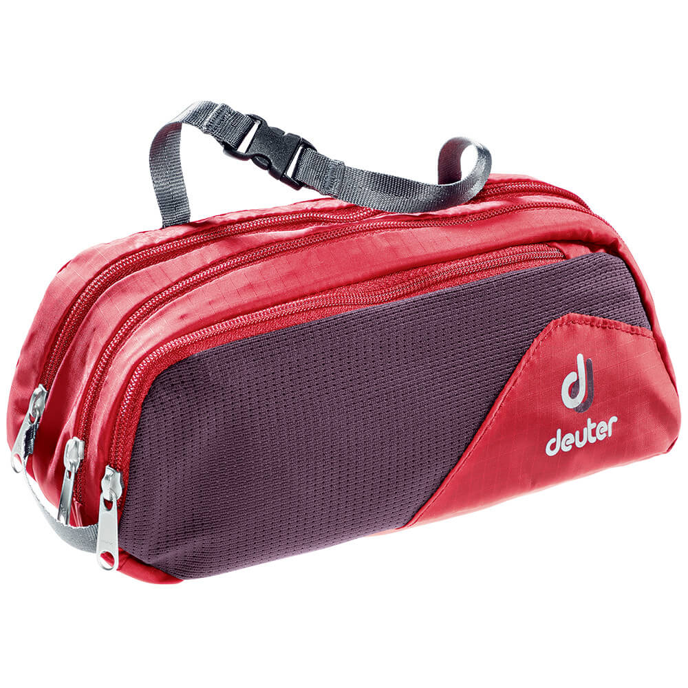 Deuter Wash Bag Tour II-fire-aubergine