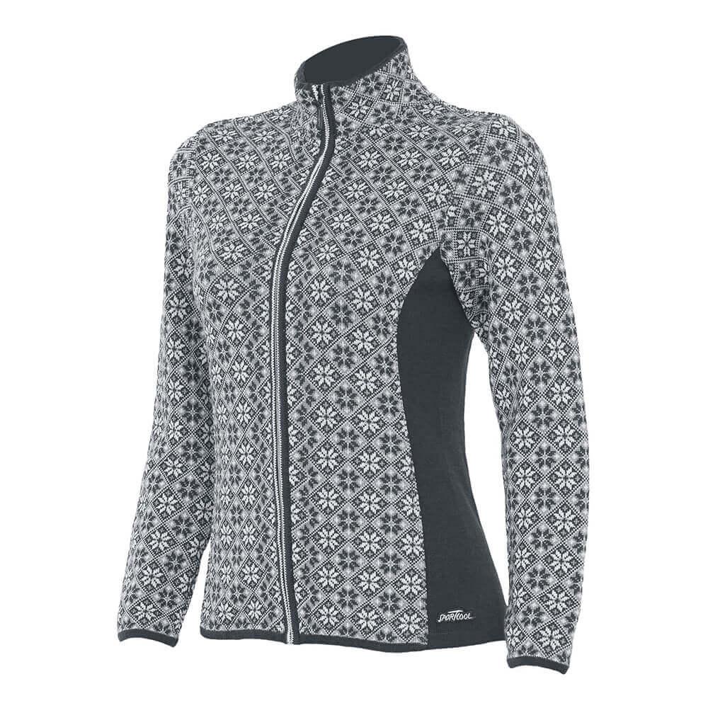 SportCool Classic Norwegian Patter-woman-dark-grey