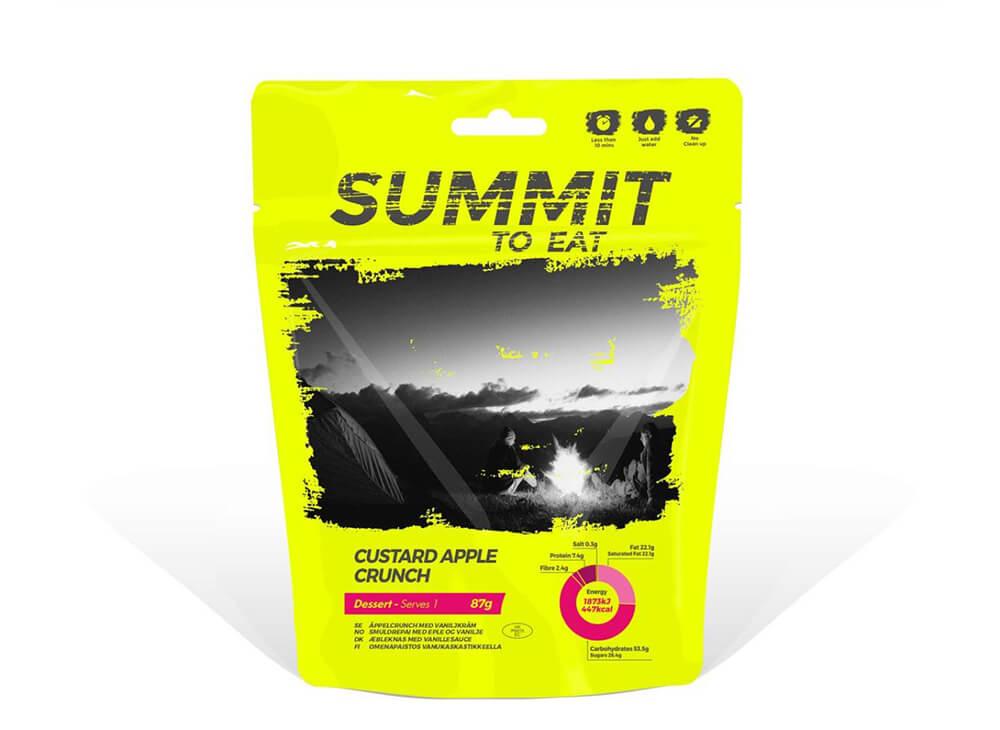 Summit to Eat Custard Apple Crunch